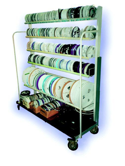 Mobile Component Rack System