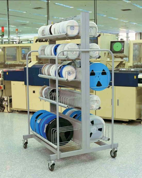 Double Sided Kitting Trolley 851-07