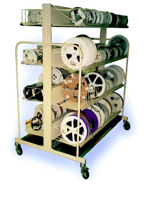 Double Sided Mobile Rack System - 825-20